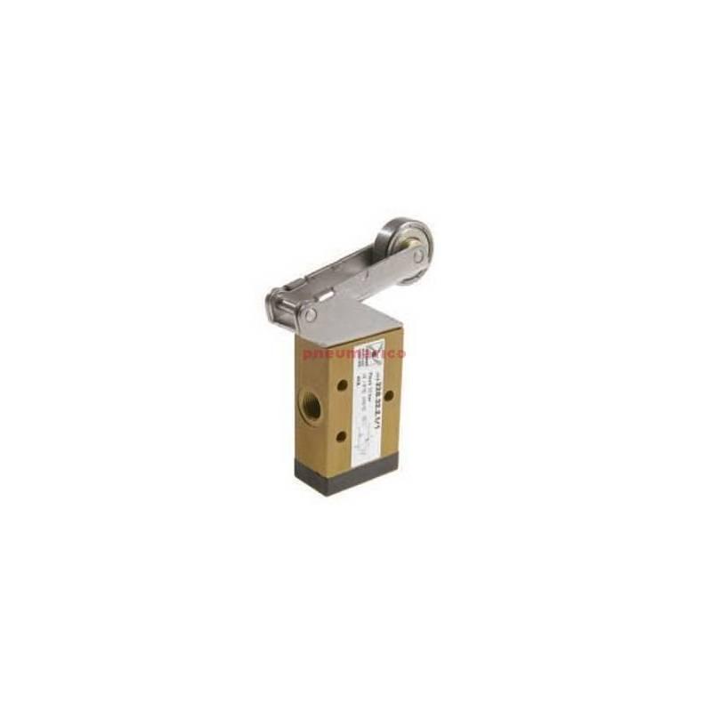 Zawór ręczny - dźwignia z rolką - sprężyna 3/2 PNEUMAX