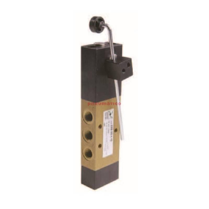Zawór ręczny - dźwignia czuła - sprężyna powietrzna 5/2 PNEUMAX