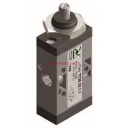 Zawór ręczny - popychacz (montaż panelowy) sprężyna 3/2 PNEUMAX