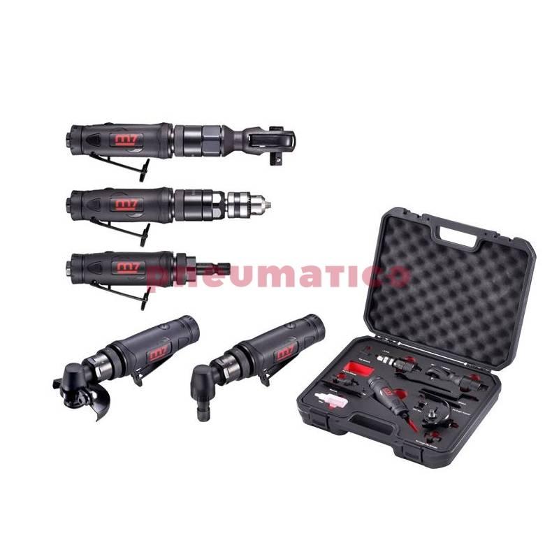 Zestaw narzędzi pneumatycznych 5 w1 M7 NE-0405-KIT