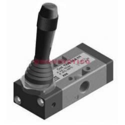 Zawór ręczny - dźwignia boczna sprężyna 3/2 PNEUMAX