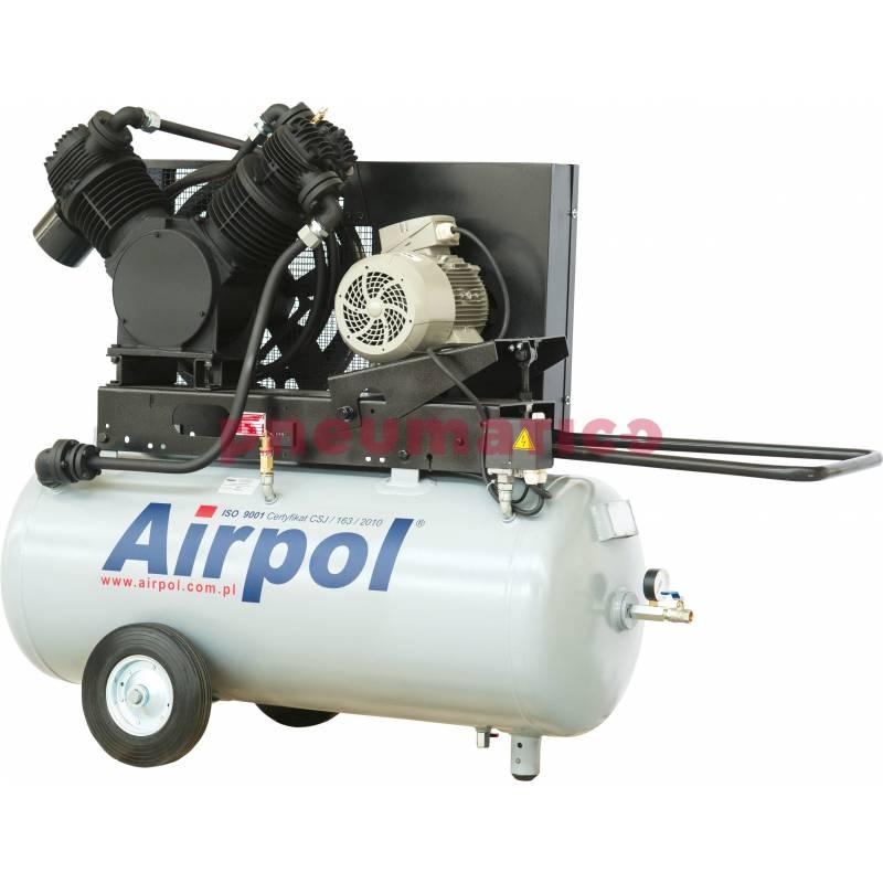 Sprężarka tłokowa AB25-380-240 AIRPOL bezolejowa