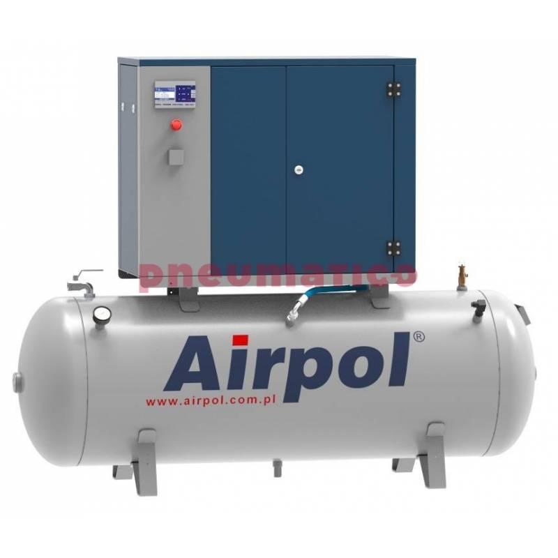 Sprężarka śrubowa KT3 AIRPOL olejowa z osuszaczem