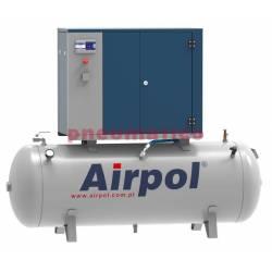 Sprężarka śrubowa KT4 AIRPOL olejowa z osuszaczem