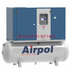 Sprężarka śrubowa KTPR15 AIRPOL olejowa z osuszaczem i falownikiem