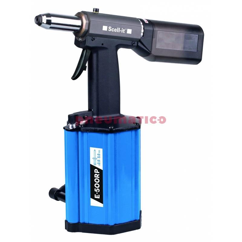 Nitownica hydrauliczno-pneumatyczna do nitów zrywalnych Scell-it E-500RP