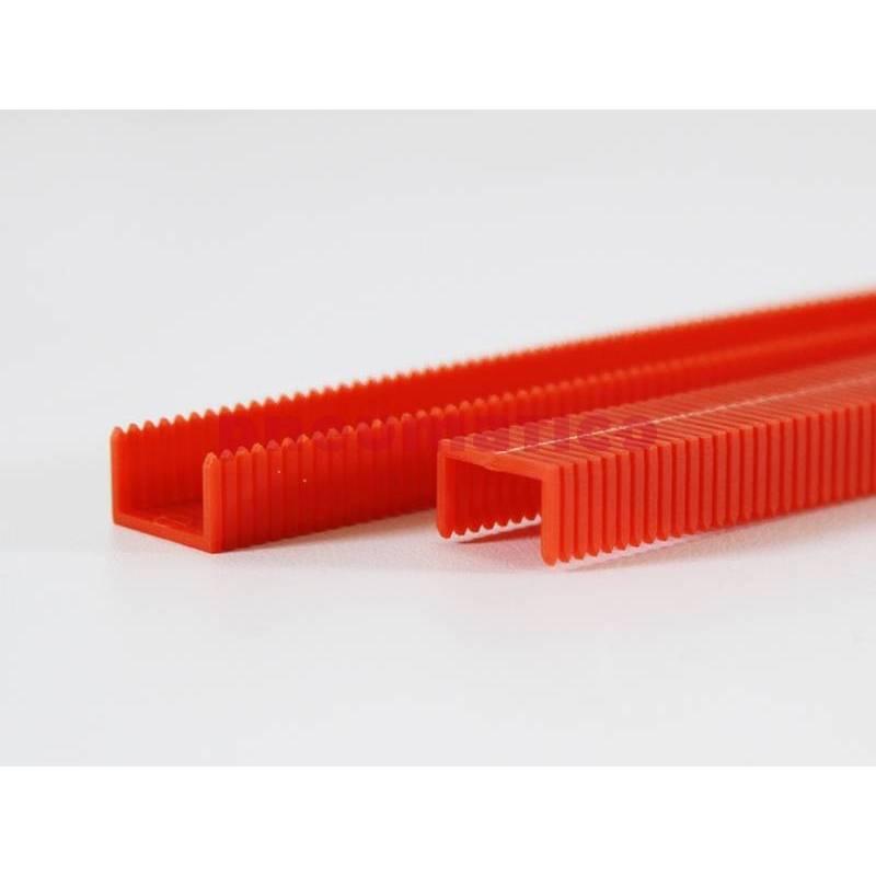Zszywka plastikowa PNEUMATICO 81P czerwona 8mm 1op.-4200szt.