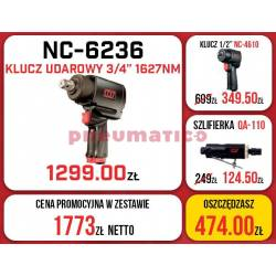 Zestaw M7 - 2x klucz udarowy + szlifierka trzpieniowa