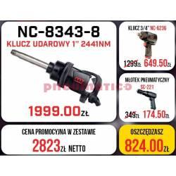 Zestaw M7 - klucz udarowy + klucz pneumatyczny + młotek pneumatyczny