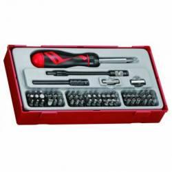 Zestaw wkrętaka z grotami wymiennymi TTMD74 - Teng Tools