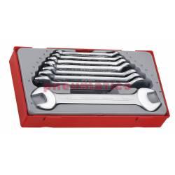 8-elementowy zestaw kluczy płaskich TT6208 - Teng Tools