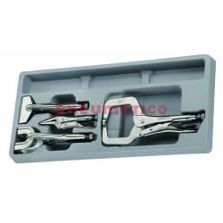 4-elementowy Zestaw kleszczy spawalniczych TTPSPG - Teng Tools