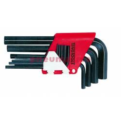 Zestaw 9 kluczy sześciokątnych 1,5-10,0 - Teng Tools