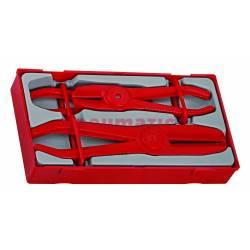 3-elementowy zestaw szczypiec zaciskowych do węży TTHC03 - Teng Tools