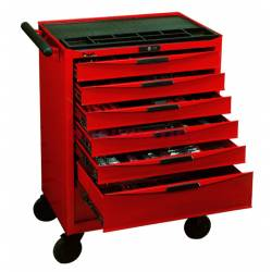 Wózek narzędziowy 491 elementów TCMM491N              - Teng Tools