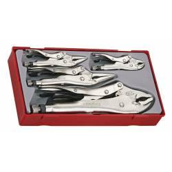 Zestaw szczypiec uniwersalnych TTVG05 - Teng Tools