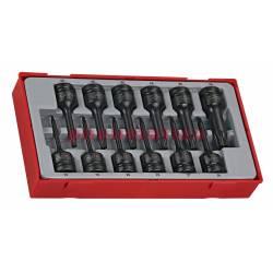 12-elementowy zestaw grotów maszynowych TX TT9212TX - Teng Tools