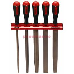 Zestaw pilników na wieszaku ściennym WRFL05 - Teng Tools