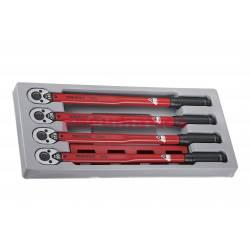 """Zestaw kluczy dynamometrycznych ze stałym momentem z chwytem 1/2"""" Teng Tools"""