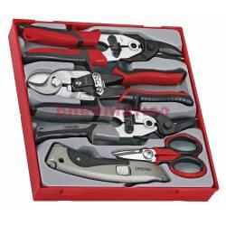 5-elementowy zestaw narzędzi obcinających i przecinających TTDCT05 - Teng Tools
