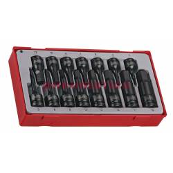 15-elementowy zestaw nasadek maszynowych trzpieniowych sześciokątnych TT9015HX - Teng Tools
