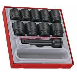 16-elementowy zestaw nasadek maszynowych z chwytem kwadratowym 34 TTD9416 - Teng Tools