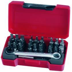 Zestaw grotów wymiennych TM029 - Teng Tools