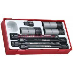 8-elementowy zestaw trzonów skrętnych TTTS08 - Teng Tools
