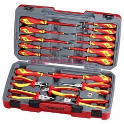 Zestaw szczypiec i wkrętaków 1000 V TV18N - Teng Tools