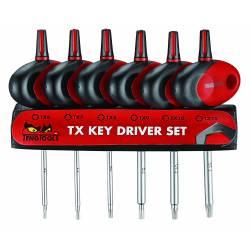 Zestaw wkrętaków precyzyjnych Torx MDM706TXT - Teng Tools