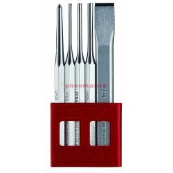 Zestaw przecinaków, wybijaków, punktaków PCx05 - Teng Tools