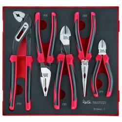 5-elementowy zestaw szczypiec TED441-T - Teng Tools
