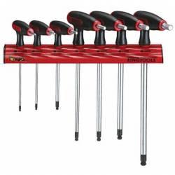 Wieszak ścienny do kluczy trzpieniowych WRHEX07 - Teng Tools