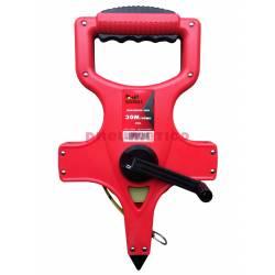 Taśma miernicza stalowa na zwijaku 30 m - Teng Tools