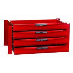Sekcja szuflad 378x603x310 mm RSD070004 - Teng Tools