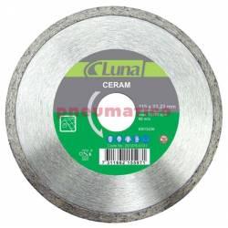 Tarcza tnąca diamentowa 125x5x1,8x22 CER - Luna