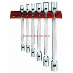 Wieszak ścienny do kluczy nasadowych przegubowych Teng Tools