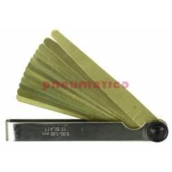Szczelinomierz płytkowy mosiężny 13-0,05-1,00 - Limit