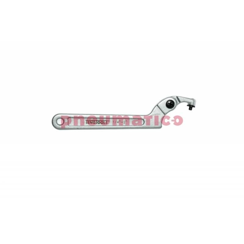Klucz hakowy HP2014 19-50 mm     - Teng Tools