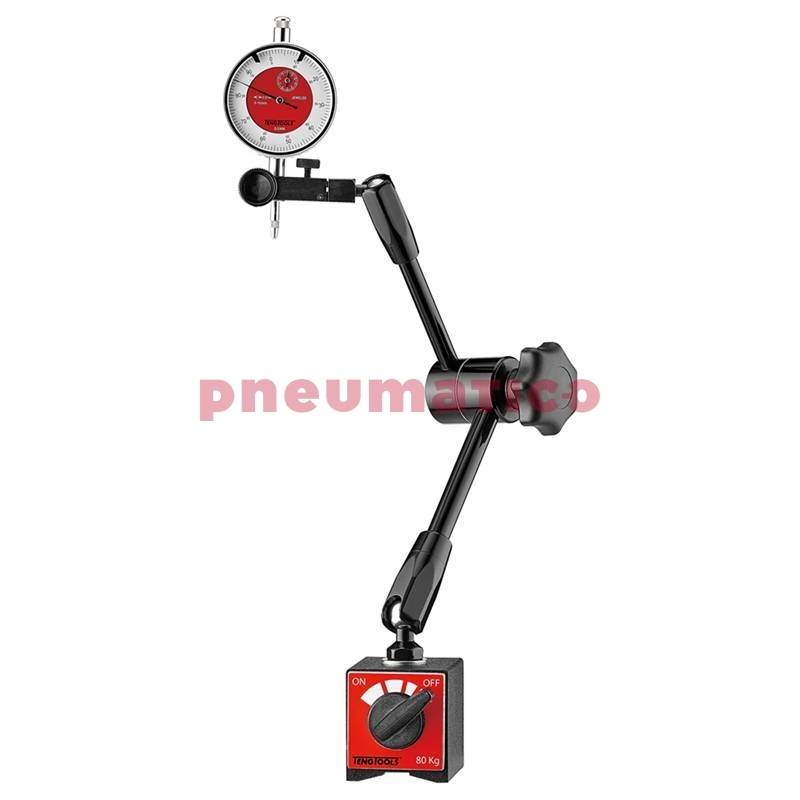Statyw 330 mm z czujnikiem zegarowym Teng Tools DGMM