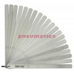 Szczelinomierze płytkowe Teng Tools 0.05-1.00 200 mm