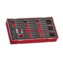 50-elementowy zestaw grotów wkrętakowych Teng Tools Impact TEABS50