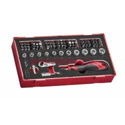 78-elementowy zestaw grotów wkrętakowych Teng Tools TEAMDQ78