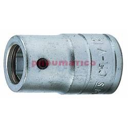 """Nasadka pod groty 1/4"""" z chwytem kwadratowym 1/2"""" Teng Tools M120063-C"""