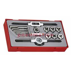 17-elementowy zestaw gwintowników Teng Tools TTTD17