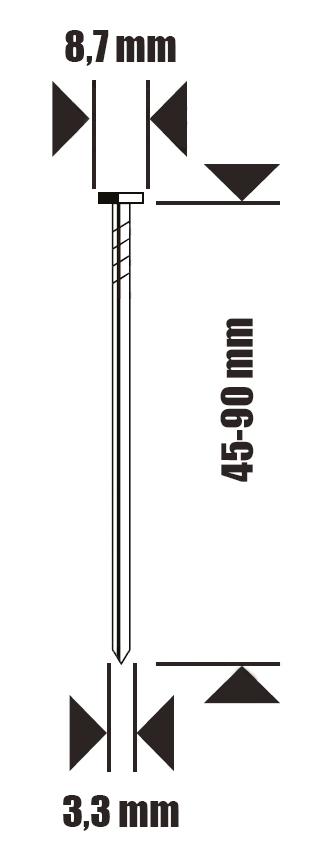 gwożdzie do IC90P-1-E