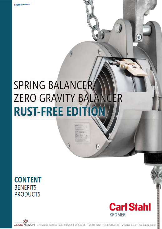 Katalog Balansery do przemysłu spożywcego Carl Stahl Kromer