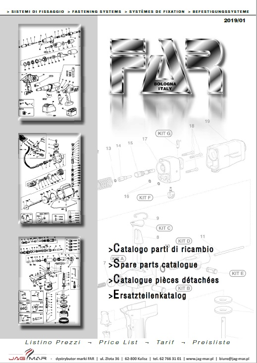 Katalog części FAR