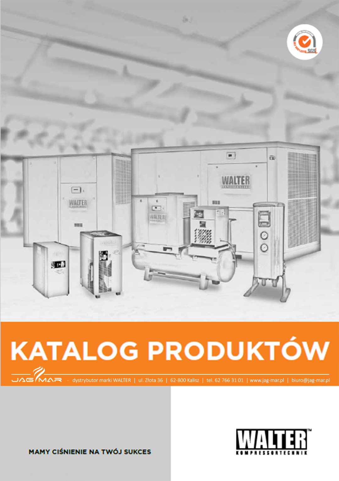 Katalog kompresory śrubowe WALTER