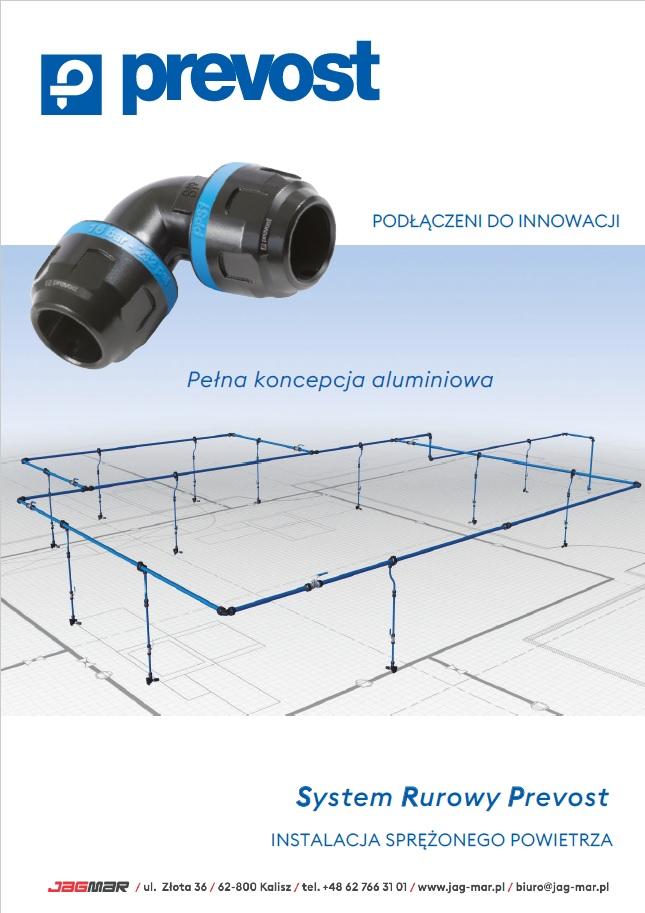 KATALOG Prevost – innowacyjny system rur i złączek z aluminium (PL)